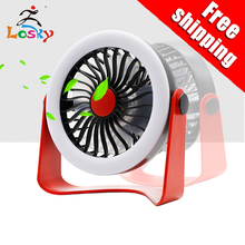 Losky hot selling mini sale led fan portable design patented products