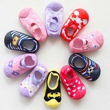Newborn Boy Girl Non Skid Socks Baby Boys Anti-skid Socks Baby Socks With Rubber Soles with Grips