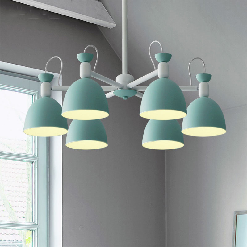 Modern Creative Concise Northern Europe Fashion Iron Pendant Lamp Restaurant Bedroom Parlor Office Decoration Lamp Free Shipping цена