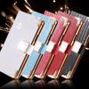 Note 4 5 Luxury Glitter Diamond Flip Leather Case For Samsung Galaxy Note 4 N9100 Note 5 N9200 Stand Wallet Holster Phone Cover