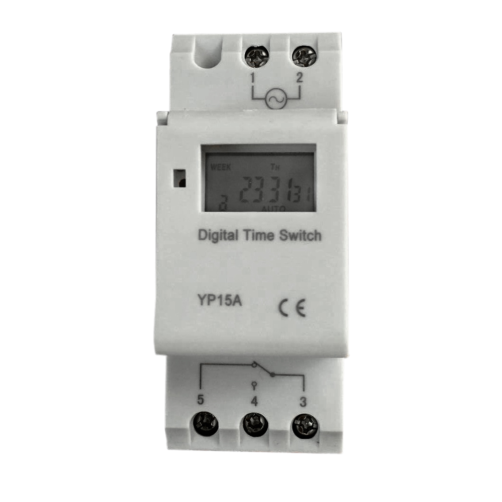 US $8 69 24% OFF|AC 12V 220V Digital LCD Relay Time Timer Microcomputer  Programmable Electronic Switch Timer Controller For Neon Light-in Timers  from