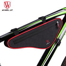 WHEEL UP 2017 New Arrival Large Capacity Nylon Reflective MTB Road Bike Front Bag Bike Panniers Cycling Bag Bicycle Accessories