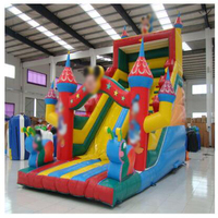 commercial bouncer slide inflatable trampoline castle CE/UL blower