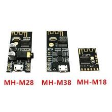 10 pcs 블루투스 무선 오디오 수신기 카드 MH MX8 blt 4.2 mp3 무손실 디코더 키트 MH M18/m28/m38