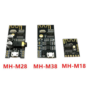 Image 1 - 10PCS Bluetooth draadloze audio ontvanger kaart MH MX8 BLT 4.2 mp3 lossless decoder kit MH M18/M28/M38