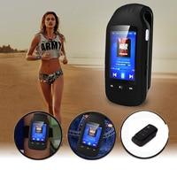 Sport Mp3 HOTT 1037 clip mp3 player bluetooth 8GB MP3 Music Player Sport Pedometer FM Radio Recording sd Card Slot 1.8 Inches