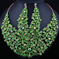 FARLENA JOYERÍA de Boda Cristalino de Lujo Collar Pendientes Establecidas para Las Mujeres sistemas de La Joyería Nupcial