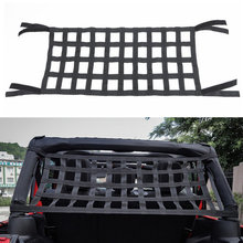 Heavy Duty Cargo Roof Top Soft Cover Rest Bed Hammock for Jeep Wrangler JK 07-18 NJ88(China)