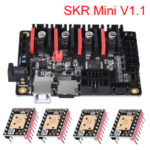BIGTREETECH SKR MiNi V1.1 32 Bit Motherboard with Double Z Axis TMC2208 For Reprap 3D Printer CNC Controller Board недорго, оригинальная цена