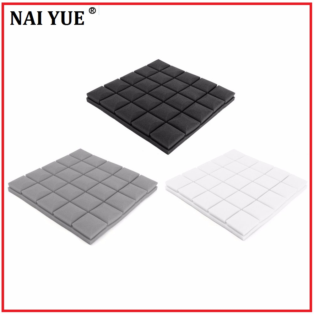 NAI YUE New 500x500x50mm DIY Acoustic Insulation Foam Soundproofing ...