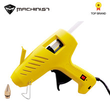 1pc 11mm US plug with lamp hot melt glue gun 60-100w dual power manual with switch dispensing equipment(China)
