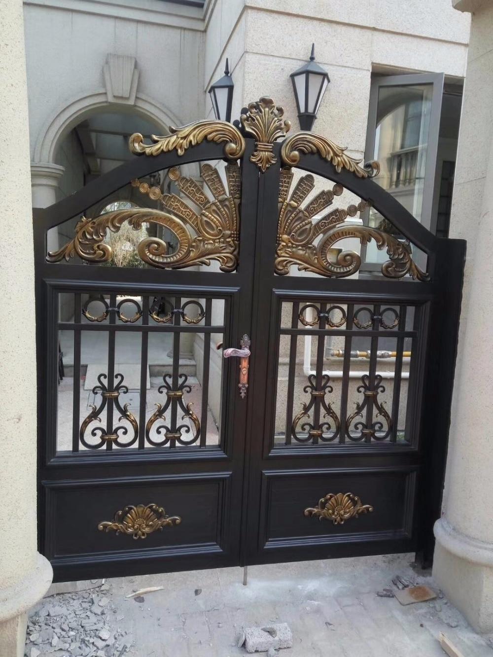 High Quality Aluminium Garden Gate Designs Hc-a17