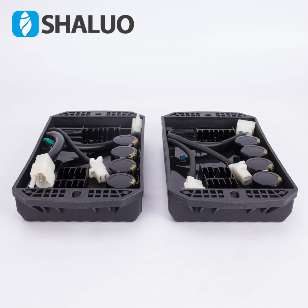Universal 8 wires Gasoline Generator Spare Parts 8kw 15kw Avr single phase Brush AC Automatic voltage