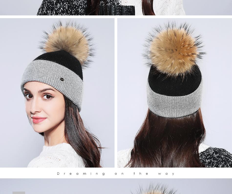 Winter Hat For Women MZ744 (13)