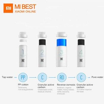 Ev Aletleri'ten Su Filtreleri'de Orijinal Xiaomi Mi su arıtma Preposition aktif karbon filtre akıllı telefon uzaktan kumanda su filtreleri ev aletleri