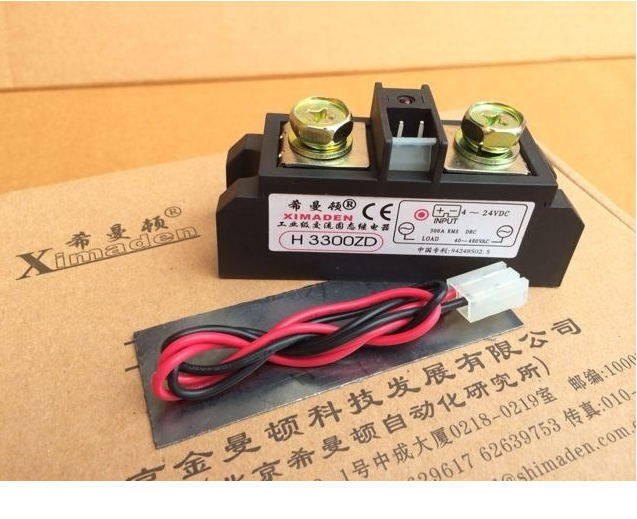 New Authentic Seaman Dayton XIMADENSSR solid state relays H3300ZD H3300PD 300A паяльник bao workers in taiwan pd 372 25mm