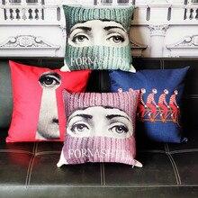 Новая итальянская серия Fornaseti для художественной спальни гостиной Прямая поставка наволочка домашний зал чехол для декоративных подушек