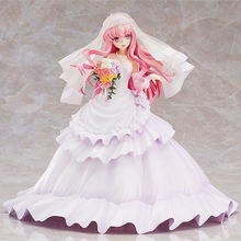 22cm KADOKAWA Louise Action Figure Anime the familiar of zero Ruizu finale wedding dress native Sexy girl PVC japanese