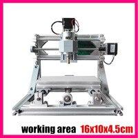 GRBL Control Diy 1610 Mini CNC Machine Working Area 16x10x4 5cm 3 Axis Pcb Milling Machine