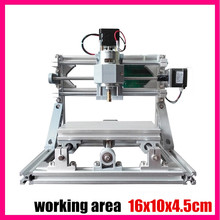 GRBL Bricolaje control 1610 mini CNC máquina, área de trabajo 16x10x4.5 cm, Pcb 3 Ejes fresadora, Madera Router, cnc router, v2.4