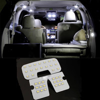 For HYUNDAI IX35 LED Interior Reading Lamp LED Light Auto Accessories 3pcs Per Set