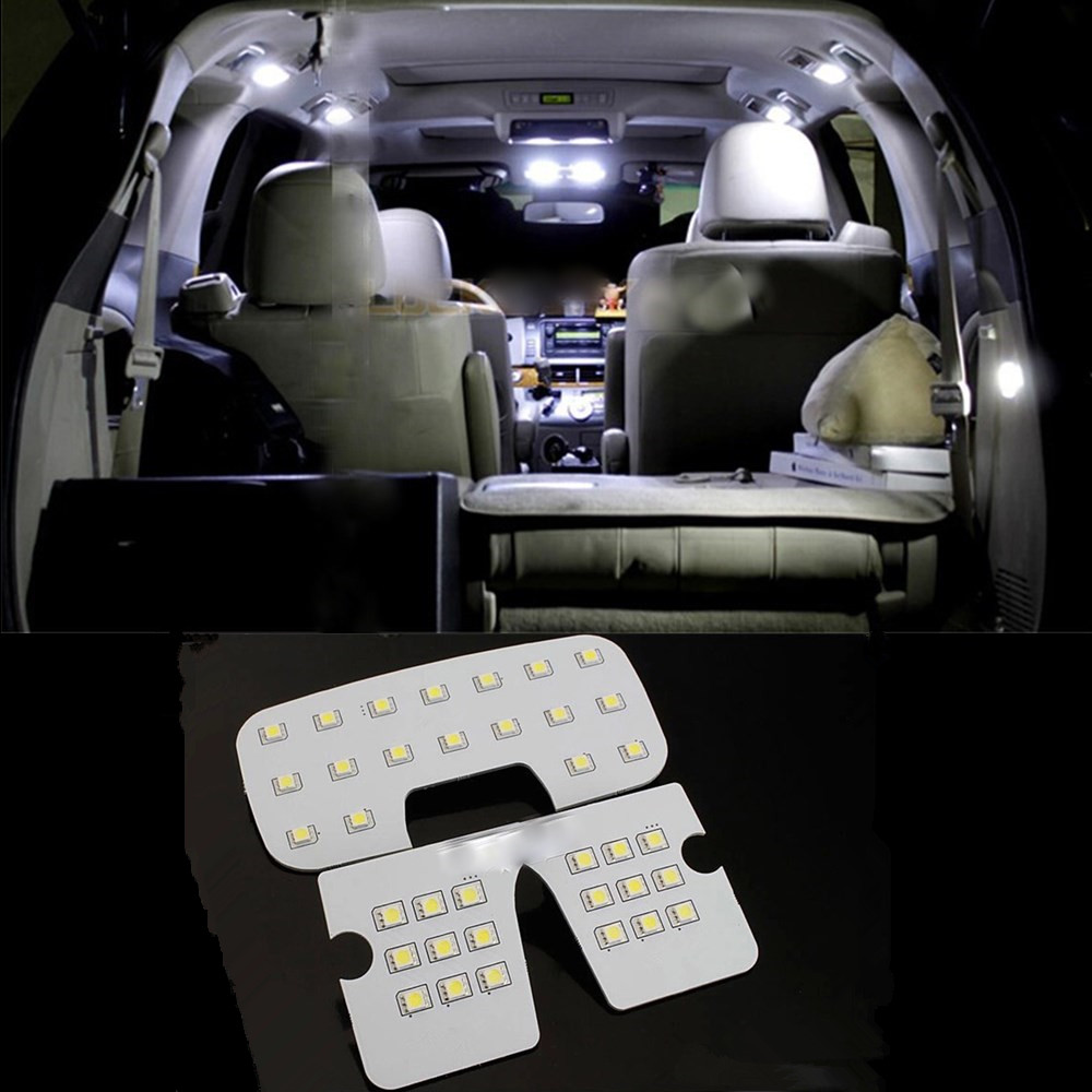 For Hyundai Ix35 Led Interior Accessories Reading Lamp Led Reading Light Visor Dome Cargo Room