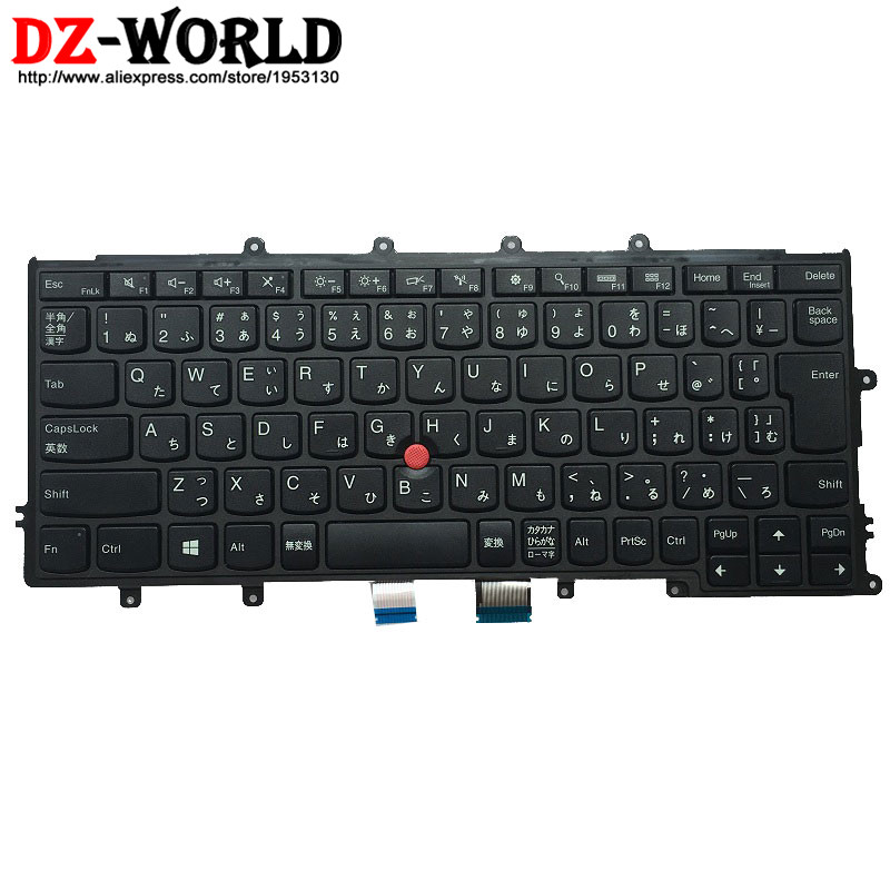 New Original for Lenovo Thinkpad X230S X240 X240S X250 X260 Japanese Keyboard JP Teclado 04Y0969 04Y0931 0C44742 все цены