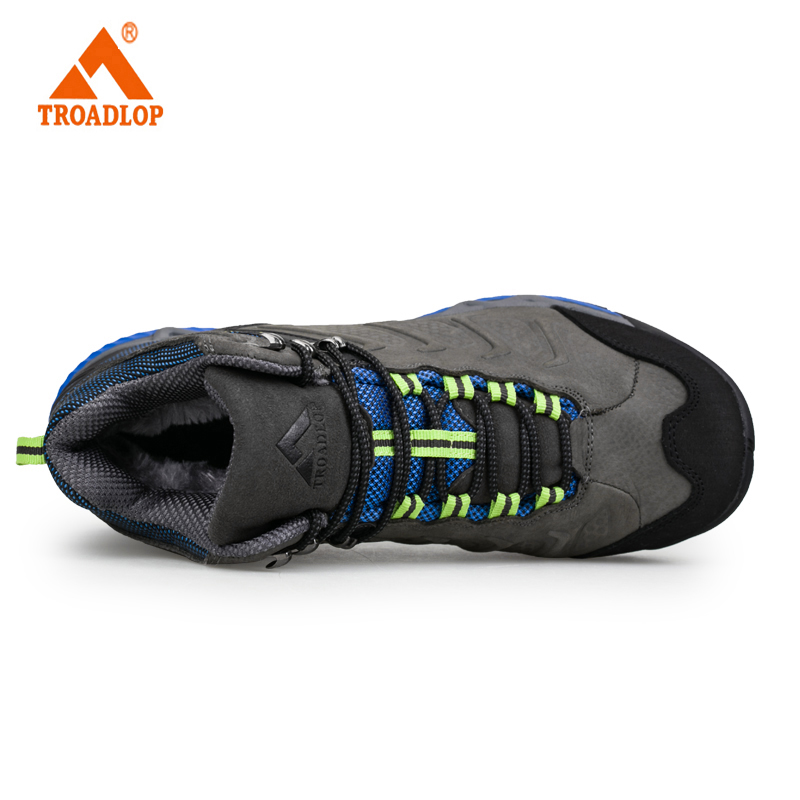 6e66963d33a US $72.0  TROADLOP Original 2017 mens weaving running shoes breathable  Genuine Leather outdoor sport athletic walking shoe size 36 44-in Running  Shoes ...
