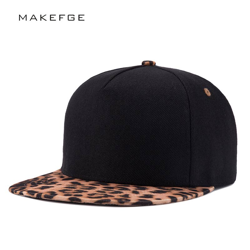 Women's hat Brands Leopard Pattern Fashion Leisure Classic Men Women Hat Hats Baseball Cap Hip Hop Snapback Caps caps men 2016 aetrue beanie women knitted hat winter hats for women men fashion skullies beanies bonnet thicken warm mask soft knit caps hats