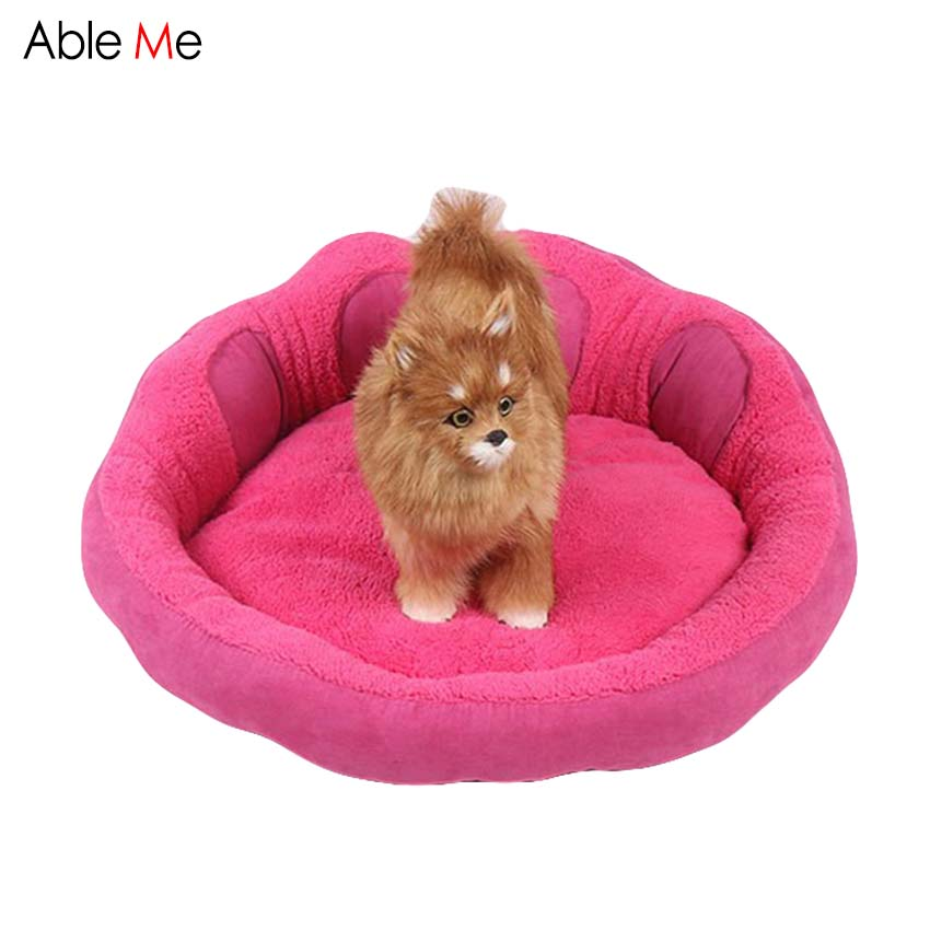 2017 fashion cute dog bed mats pet large mascotas cat puppy warm house furniture soft durable