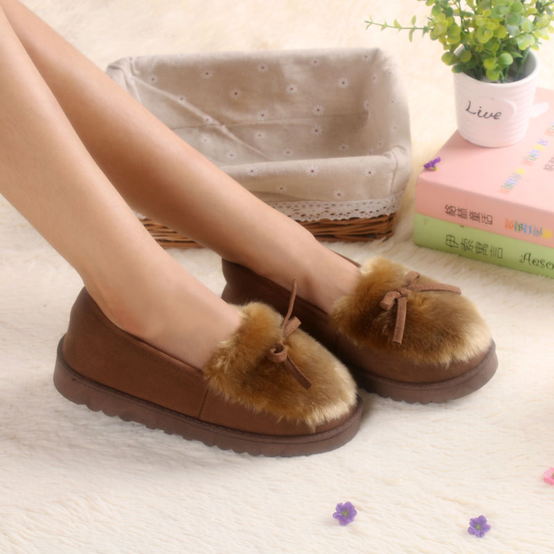 Winter font b Women b font House Slippers Warm Indoor Slippers Home Shoes Zapatillas Casa Mujer