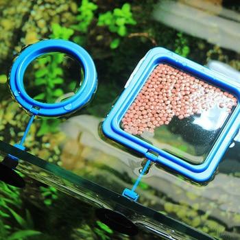 Aquarium Feeding Ring and Floating Food Tray Feeder