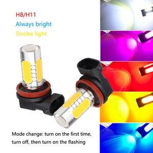 2pcs High Power Car LED Flashi