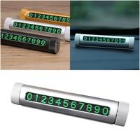 3 In 1 Multi Functional Car Air Freshener Phone Holder Perfume Temporary Hidden Car Parking Number Plate Card