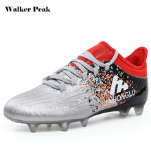 Best Price Adult Futsal shoes for football sock boots boys soccer cleats krossovky for footballl shoes kids with ankle bracelet wholesale