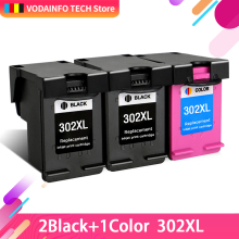 QSYRAINBOW replacement For HP 302 XL hp302 302XL ink cartridge for DeskJet 1110 2130 NS45 Officejet 3630