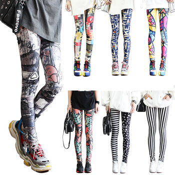 Fashion Leggings Sexy Highly Elastic and Colorful