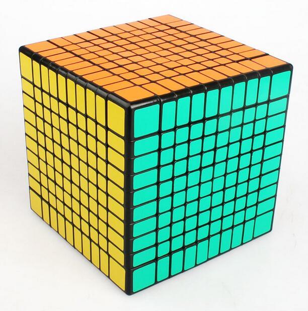 S hengshou 102มิลลิเมตร10x10x10 Cube 10*10บิดปริศนาการศึกษา-ใน ลูกบาศก์มหัศจรรย์ จาก ของเล่นและงานอดิเรก บน   2