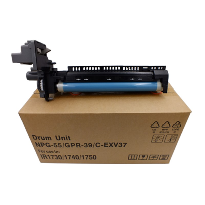 NPG55 GPR39 EXV-37 Drum Unit NPG-55 GPR-39 C-EXV37 Compatible for Canon iR1730 iR1730i iR1730iF iR1740 iR1740i iR1740iF <font><b>iR1750</b></font> image
