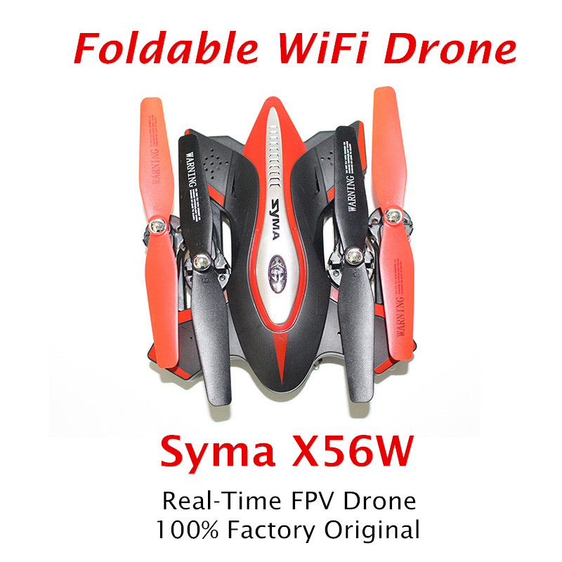 Foldable Quadrocopter SYMA X56W FPV RC Drone with wifi camera RC Helicopter VS XS809HW Quadcopter Remote Control Dron