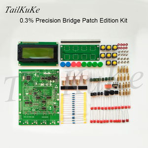 Image 2 - XJW01 LCR digital bridge tester  ESR Kit