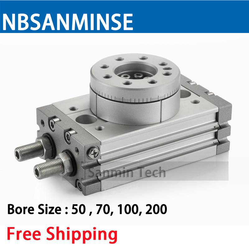 цена на MSQB Free Shipping Rotary Table Air Cylinder Pneumatic Compressed Parts Type Pinion Air ( non - lube ) SMC Sanmin