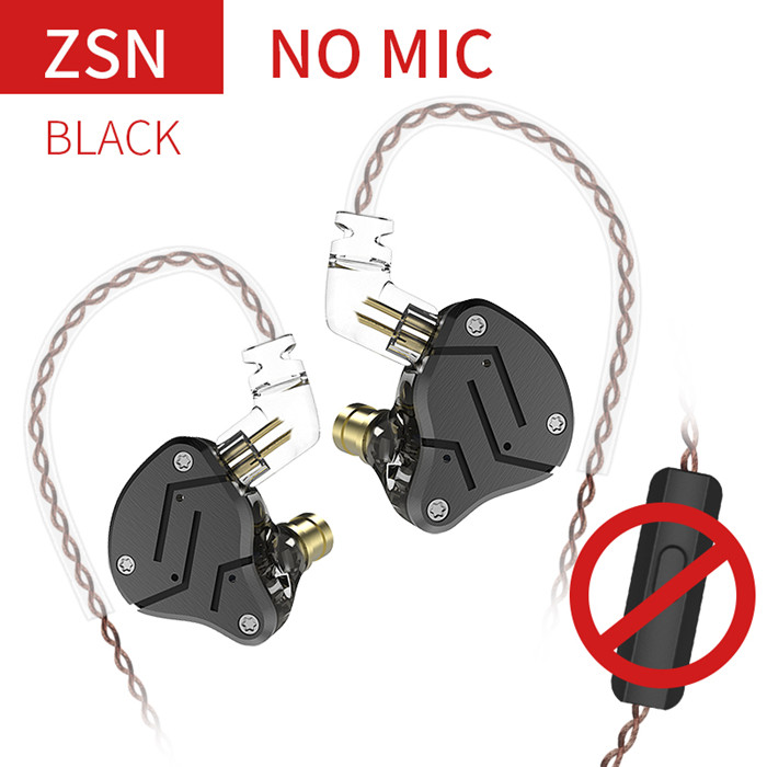 ZSN Black No Mic