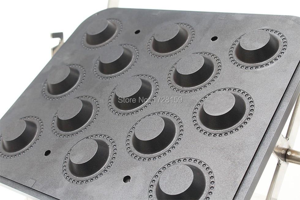 New Design Hot Sale Tartlets Making Machine With 13 Holes Tartlets Maker Plate  Egg Tart Forming Machine Mould