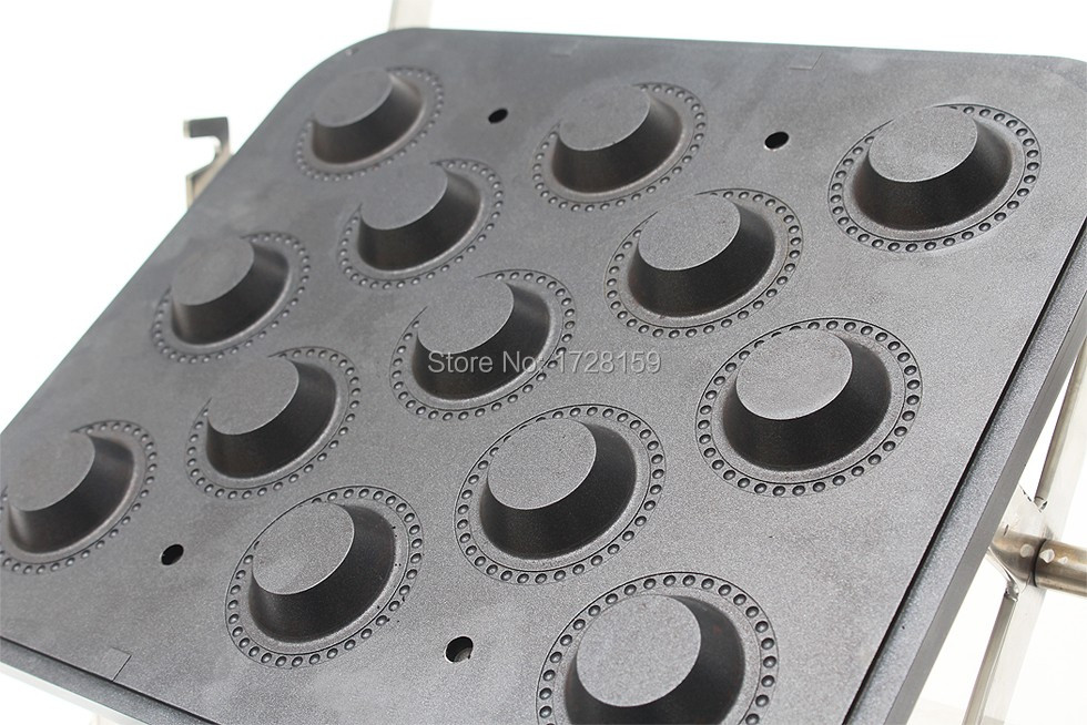New Design Hot Sale Tartlets Making Machine With 13 Holes, Tartlets Maker Plate , Egg Tart Forming Machine Mould