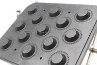 New Design Hot Sale Tartlets Making Machine With 13 Holes, Tartlets Maker Plate , Egg Tart Forming Machine Mould