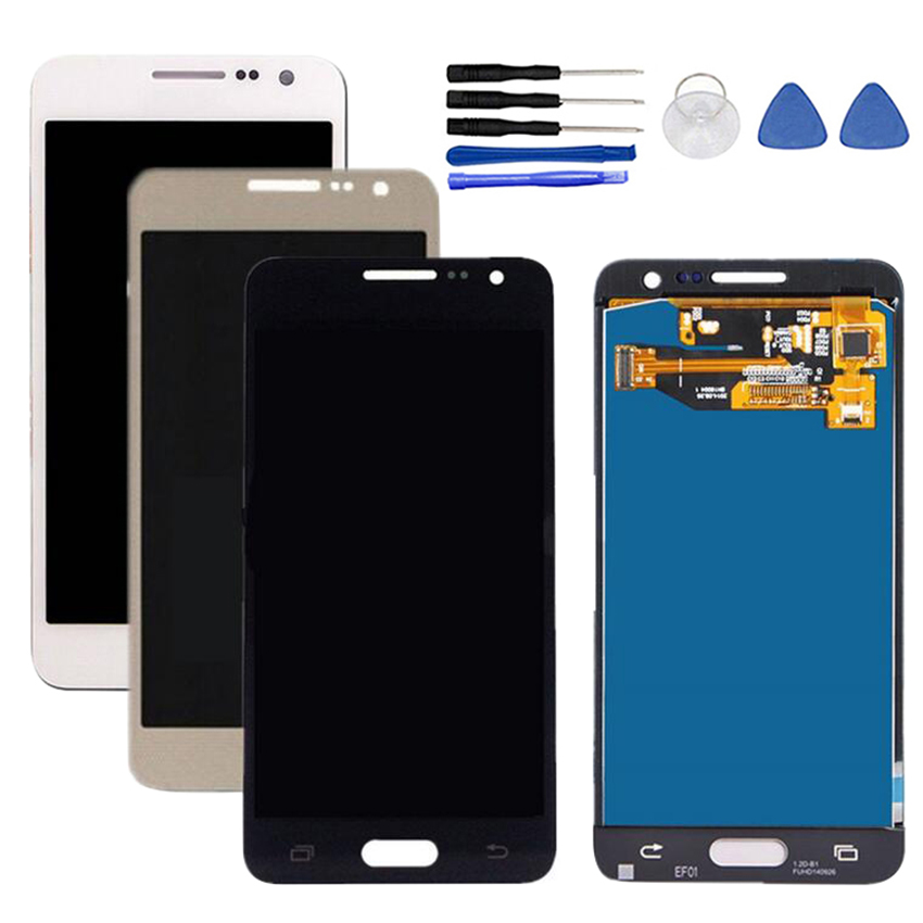 <font><b>LCD</b></font> Display Touch Screen Digitizer For <font><b>Samsung</b></font> Galaxy A3 2015 <font><b>A300</b></font> A300H A300F <font><b>LCD</b></font> Display Touch Screen Digitizer with Tools image