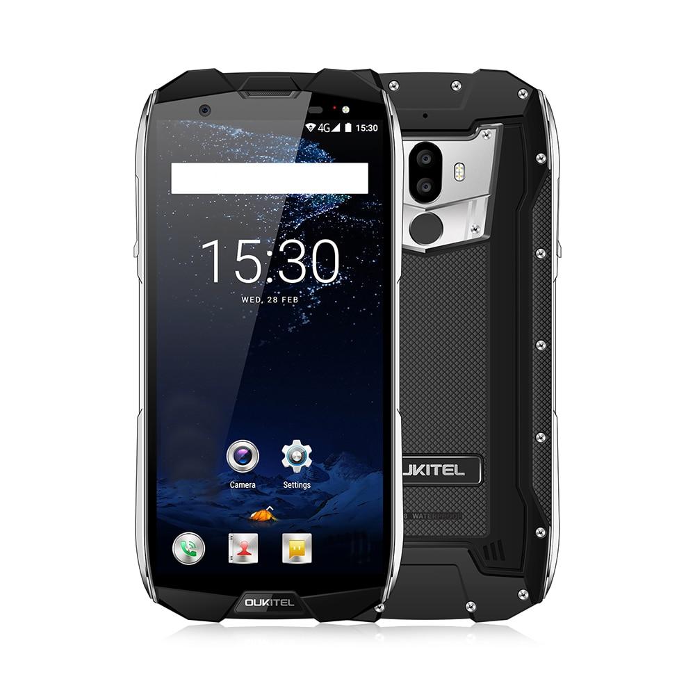 OUKITEL WP5000 4G Smartphone 5.7 Pouce Android 7.1 Helio P25 Octa Core 2.5 GHz 6 GB RAM 64 GB ROM IP68 Étanche Double Arrière Caméras