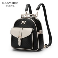SUNNY SHOP New Arrival Fresh Student School Backpack