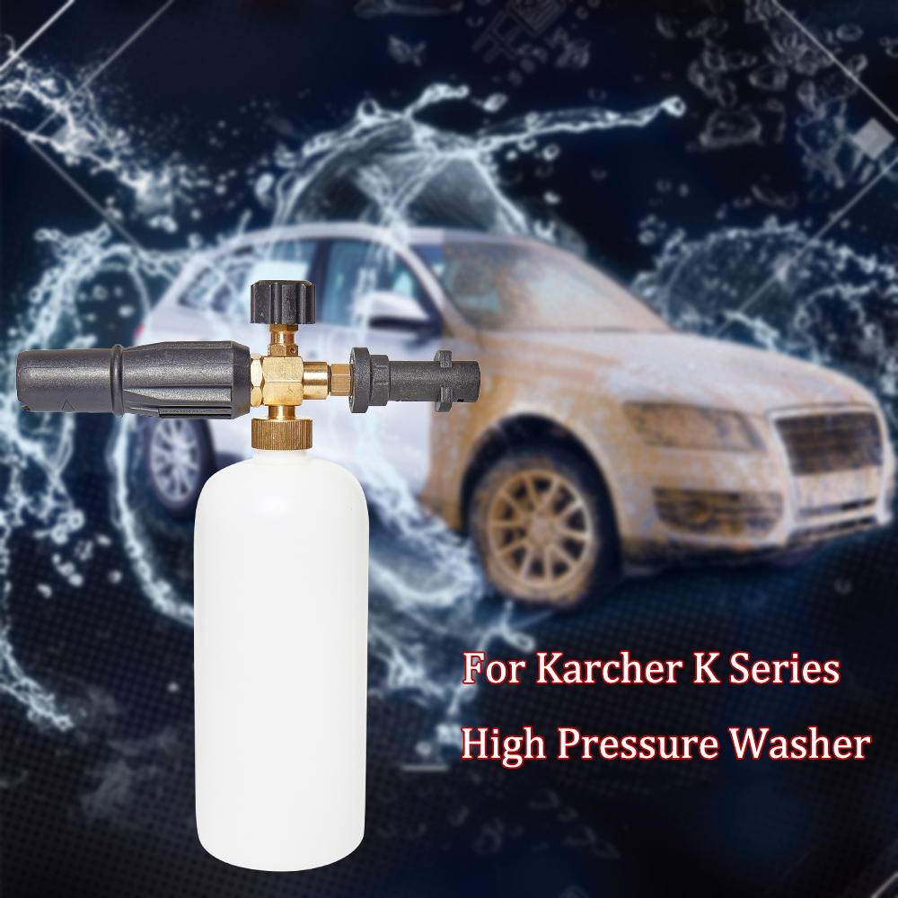Image 3 - Car Washer Snow Foam Gun Foam Cannon for Karcher K2   K7 K Series 1L Soap High Pressure Snow Foam Lance-in Water Gun & Snow Foam Lance from Automobiles & Motorcycles